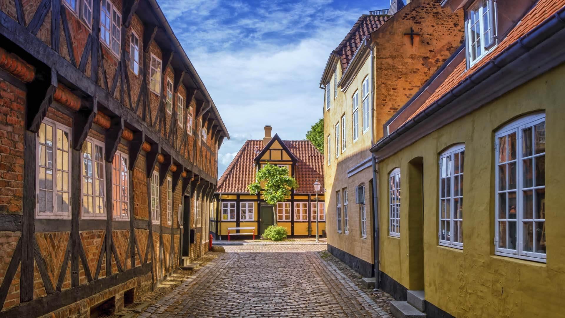 Deense stad Ribe
