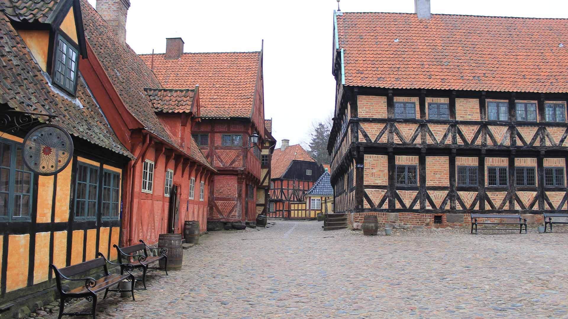 Oldtown museum Aarhus