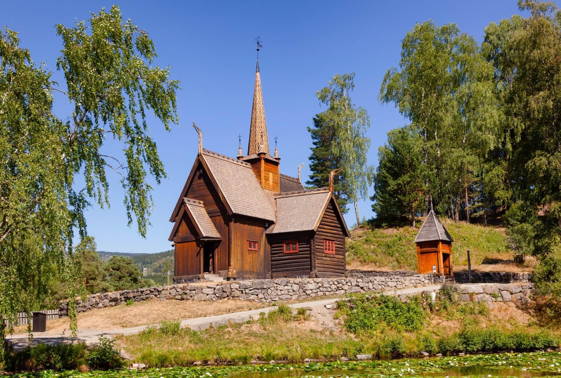 Lillehammer Scandinavië